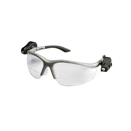 3M™ Aearo Light Vision™ 2 078371-62112 Bi-Focal Lens Premium Reader Protective Glasses, +1.5, Half Framed, Anti-Fog