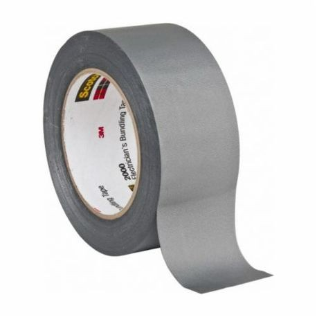 3M™ 054007-43403 Display Duct Tape, 50 yd L x 2 in W x 6 mil THK, Silver