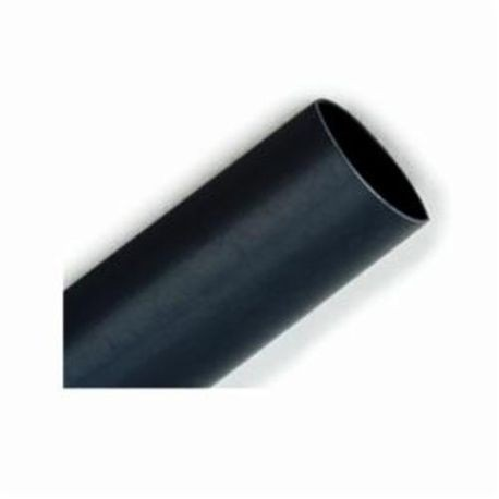 3M™ 054007-40064 Flexible Heat Shrink Tubing, 1/2 in ID Expanded, 1/4 in ID Recovered, 0.025 in Wall THK Recovered