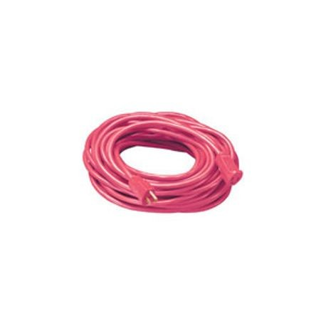 Extension Cord 143 Awg 50 Ft Nema 5 15p Plug 125 Volts Red 15