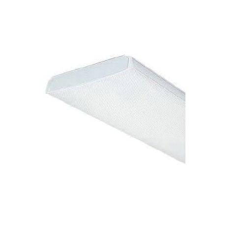 Lithonia Lighting® 2LB Low-Profile Wraparound Fixture, 2 Fluorescent ...