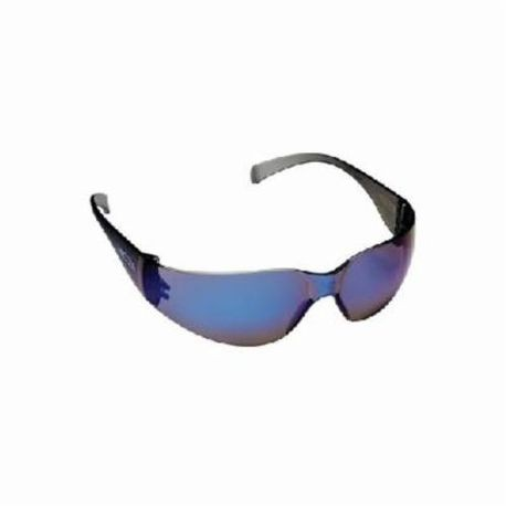 3M™ Virtua™ 078371-62108 Light Weight Protective Eyewear, Universal, Frameless Blue Mirror Frame, Anti-Scratch