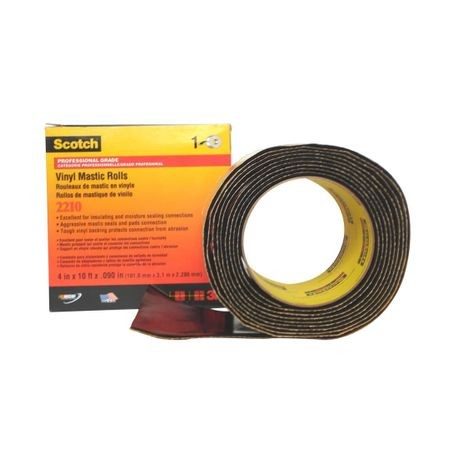 3M, Scotch, Mastic Roll, Vinyl, 4 Inch x 10 ft, 125 mil