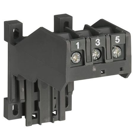 ABB DB25/32A Panel Mounting Adapter, 3-Pole, For Use With TA25DU32 Overload Relays