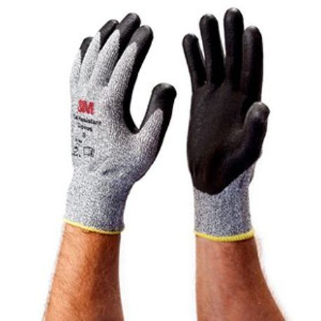 3M™ CG Medium Duty Cut-Resistant Gloves, XL, Nitrile Palm, Gray, Nitrile Foam/UHMWPE