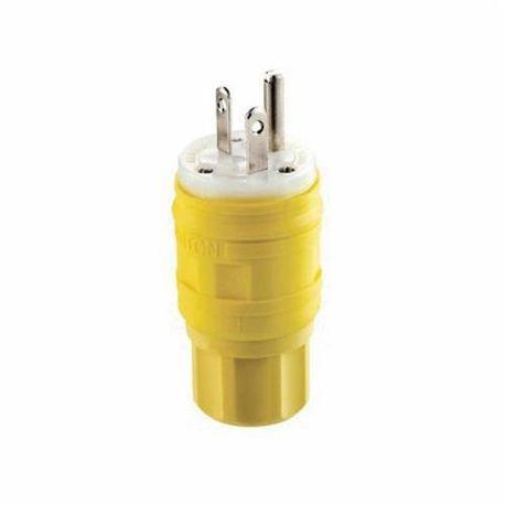 LEVITON 14W33 Wetguard Watertight Devices Wet Guard Yellow