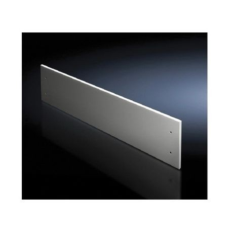 Rittal 9672336 Bottom Front Trim Panel, 100 mm H x 600 mm W, For Use With  TS Series IP54 Enclosure, Carbon Steel