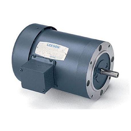 LEESON® 110047 Type TF Continuous Duty AC Motor, 4-Pole, B NEMA Design,  0 75 hp, 208 to 230/460 VAC, 3/1 5 A, 60 Hz