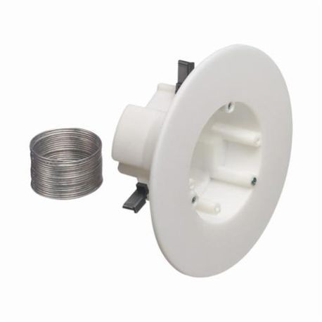 Arlington Cam Light Old Work Ceiling Fixture Box With Speed Clamps Plastic 27 Cu In 1 Gang 2 Knockouts