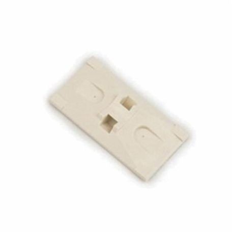 3M™ 054007-06290 Cable Tie Mounting Base, 2-Way, Adhesive Mount, ABS, Beige
