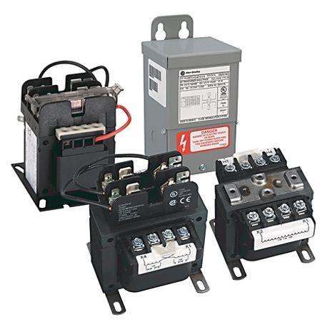 Allen-Bradley, 1497 - CCT Standard Transformer, 800VA, 240/480V 60Hz /  220/440V 50Hz Primary, 110V 50Hz / 120V 60Hz Secondary, 0 Pri - 0 Sec Fuse
