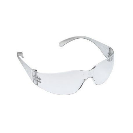 3M™ Virtua Max™ 078371-62115 Economy Protective Eyewear, Anti-Scratch Clear Lens, Frameless Clear Plastic Frame, Polycarbonate Lens, Specifications Met: ANSI Z87.1-2003, CSA Z94.3-2007