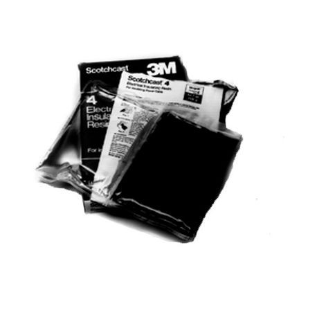 3M™ Scotchcast™ 2136 Potting Kit, 1.5 oz Size A/2-Part Pouch, Black, Liquid, 1.08 Part A/ 0.98 Part B