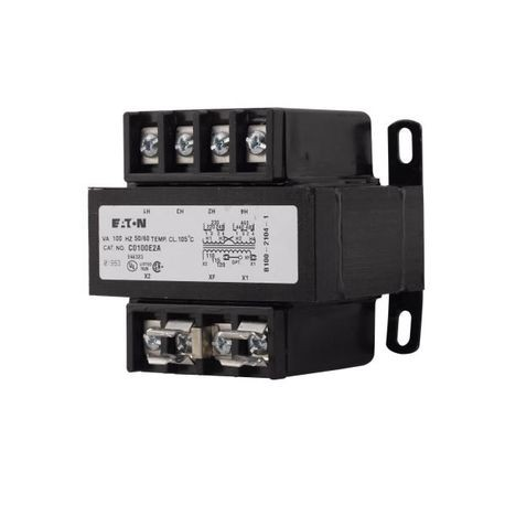 Cutler-Hammer C0050E1B MTE Industrial Control Transformer, 120/240 V  Primary, 24 V Secondary, 50 VA, 50/60 Hz, 1 Phase   State ElectricState Electric Supply Co.