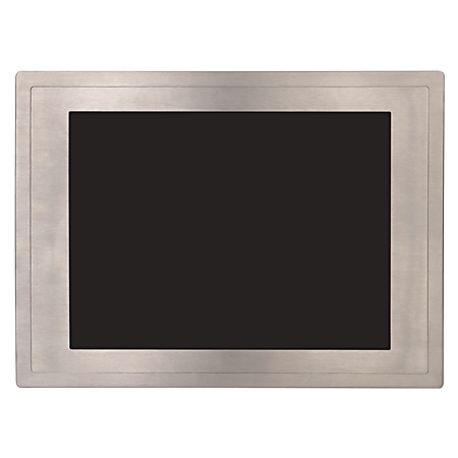 Allen-Bradley, 6186M Performance Monitors, 17-in Flat Panel Monitor, Non-Touch, Stainless Steel Bezel