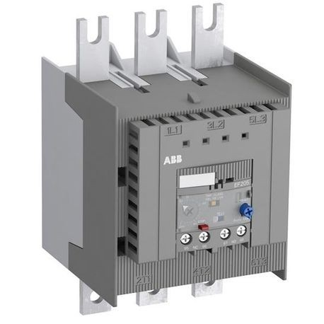 ABB EF205-210 Self-Supplied Electronic Overload Relay, 210 A, 1NO-1NC Contact Form