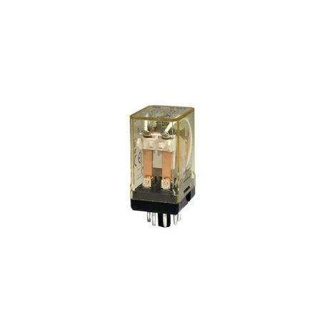 Idec Rr Midget Standard Power Relay 10 A Dpdt Contact Form 24 Vdc