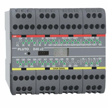 ABB 2TLA020070R1700 Programmable Logic Controller, 24 VDC, 40 Inputs, 22 Outputs