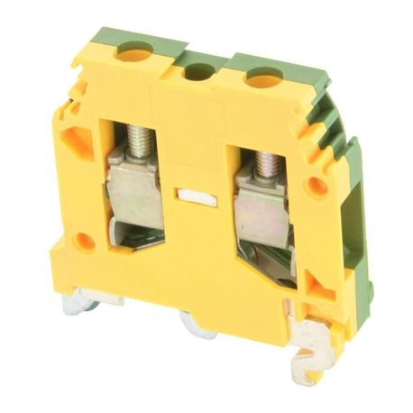 ABB 016511417 SNA Ground Terminal Block, 8 AWG Wire, DIN Rail Mount