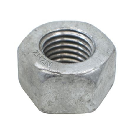 1 1/2-8 A194 2H HEAVY HEX NUT, GALVANIZED