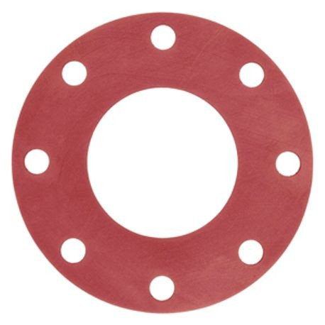 1 1/2 300#/400#/600# 1/8 RED RUBBER  75 DUROMETER +/- 5 FULL FACE GASKET