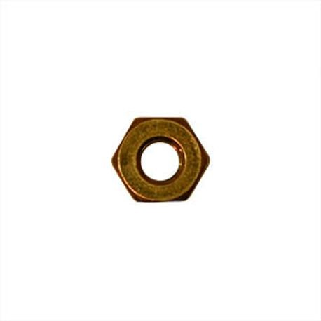 #10-32 SILICON BRONZE MACHINE HEX NUT