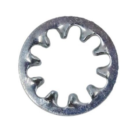 Internal Tooth Lock Washer, Plated
