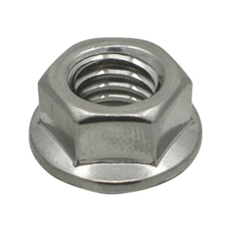 SS Serrated Flange Locking Nut