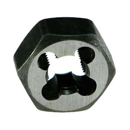 #12-24 CARBON STEEL HEX REATHREAD DIE NUT