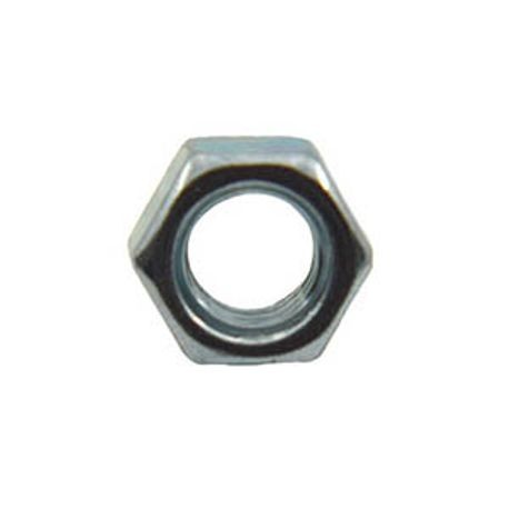 #10-24 GRADE 2 MACHINE HEX NUT, PLATED