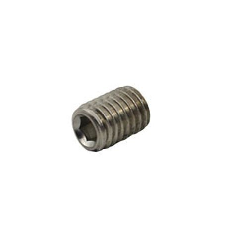 #10-32 X 3/4 F880 18-8 STAINLESS STEEL SOCKET SET SCREW CUP POINT