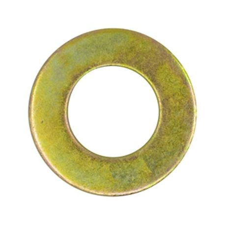 Thru Hardened SAE Flat Washer, Plated
