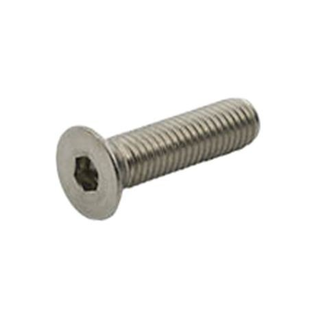#10-32 X 1 F879 18-8 STAINLESS STEEL FLAT SOCKET CAP SCREW