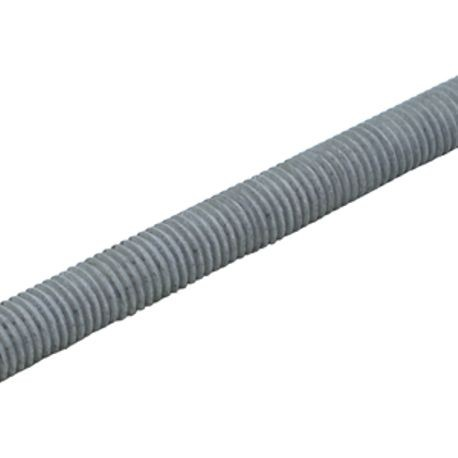 1 1/2-6 X 3 FT A307 ALL THREAD ROD, GALVANIZED