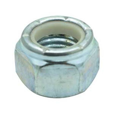 #8-32 NYLON INSERT LOCK NUT, PLATED