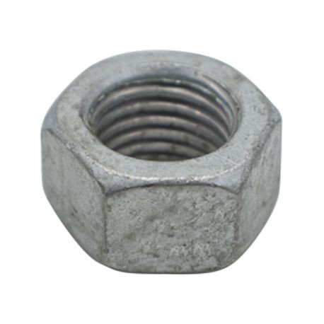 Grade 2 Hex Nut, Galvanized
