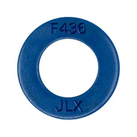 1 1/2 F436 THRU HARDENED FLAT WASHER, TEFLON