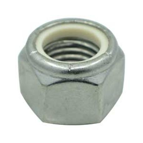 #10-24 316 STAINLESS STEEL NYLON INSERT LOCK NUT