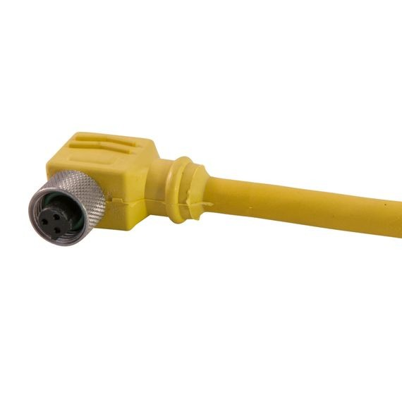 Dual Key Micro-Link Plug Assembly, (SJOOW), Female, 90 deg, 5 pole, 20', 18 AWG