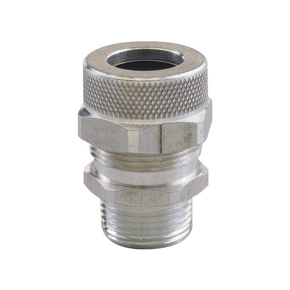 "Cord Grip less bushing, alum, 1/2"" NPT, Form Size 3"