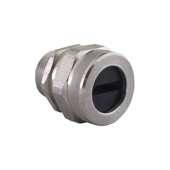 "Festoon Cable Connector, alum, 1-1/4"" NPT, cable range 1.13 x .22"