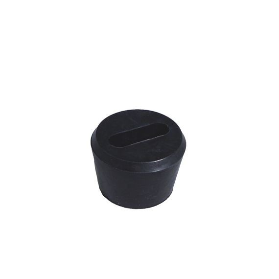 Festoon Cable Bushing, neoprene, cable range .425 x .225, Form Size 2