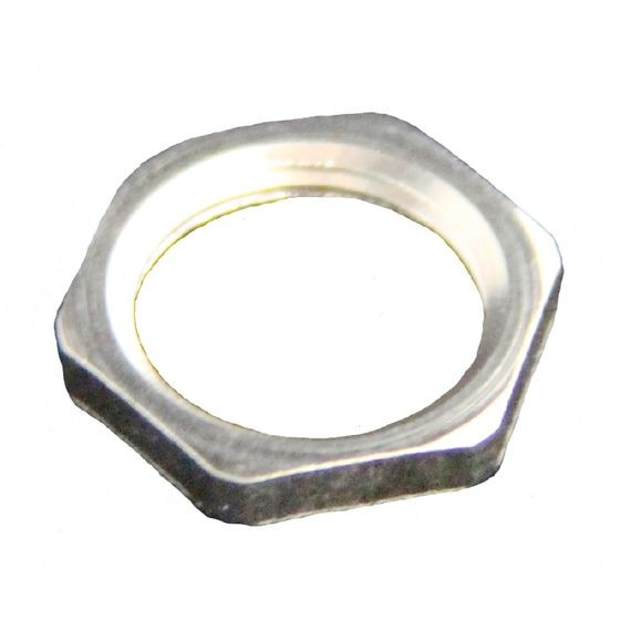 "Locknut, steel, 1-1/4"" NPT"