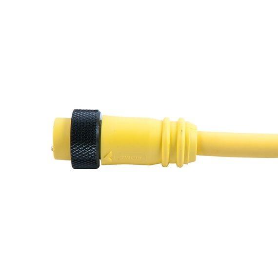 PVC Mini-Link Plug Assembly, Female, 3 pole, 6\', 16 awg | Remke
