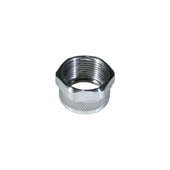 Cord Grip Component, nut for mesh only, alum, RSR-100 Series