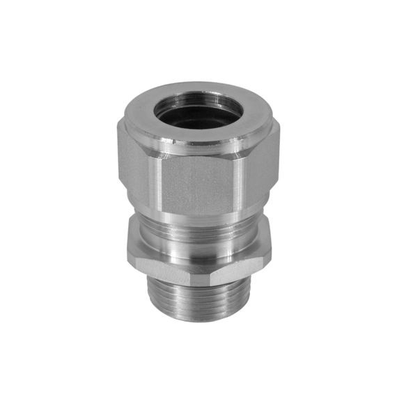 "Cord Connector, SS, 1/2"" NPT, cable range .375 - .438"