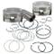 "S&S 106"" Forged Stroker Pistons for 1999-'16 HD<sup>®</sup> Big Twins - +.020"""