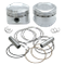 "89"" Low Compression Stroker Pistons For 1984-'99 HD<sup>®</sup> Big Twins W/ Super Stock Heads - + .010"""