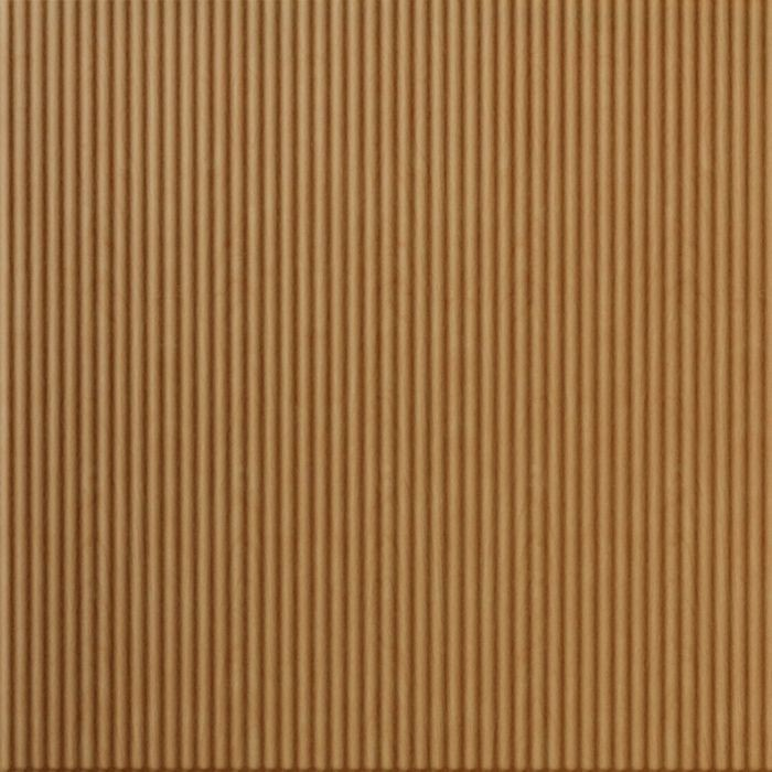 FlexLam 3D Wall Panel | 4ft W x 10ft H | Rib1 Pattern | Light Maple Finish