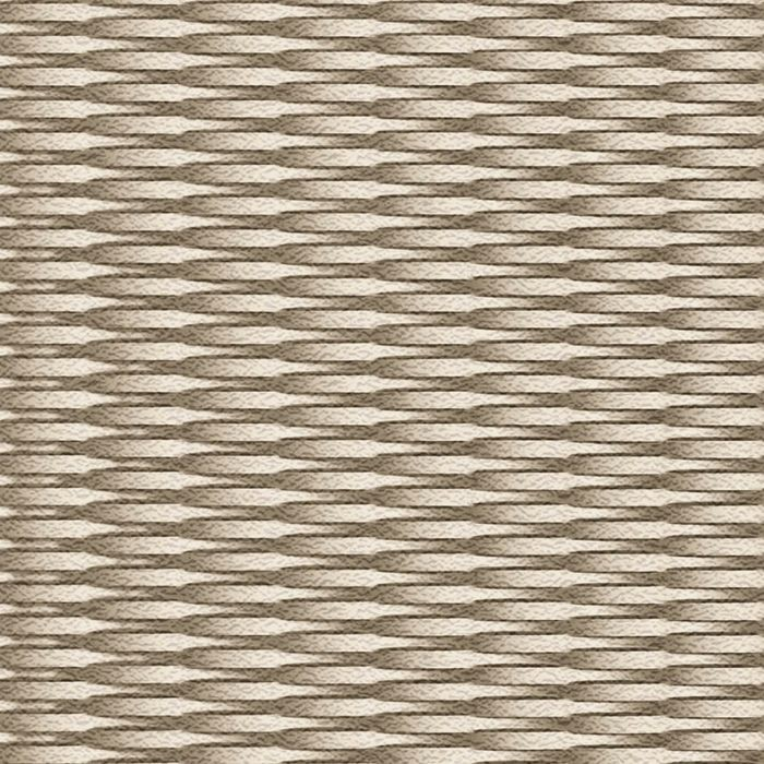 10' Wide x 4' Long Interlink Pattern Eccoflex Tan Finish Thermoplastic Flexlam Wall Panel